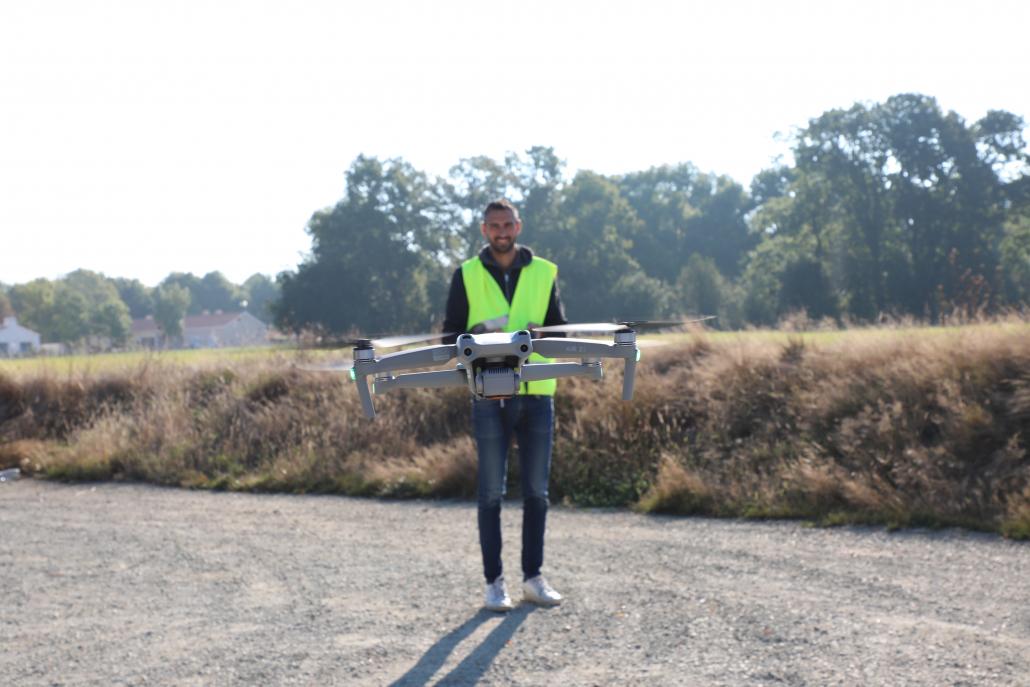 Pilotage du drone