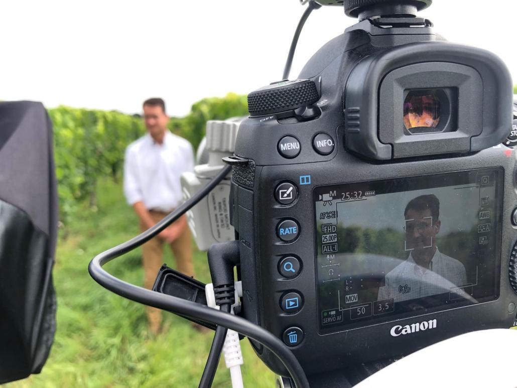 Captation d'images, tournage